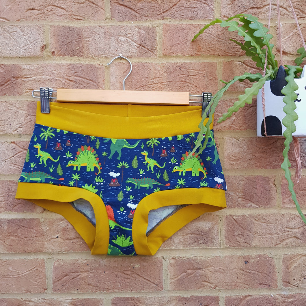 Made to order - Super Comfy Undies - Dinosaurs