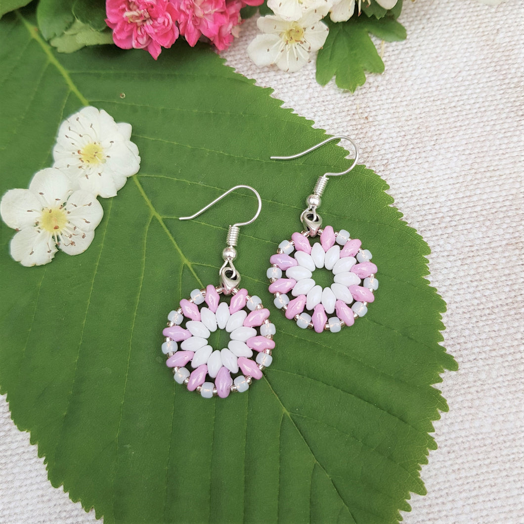 Blossom Beaded Earrings