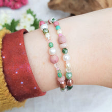 Load image into Gallery viewer, Blossom Beaded Wrap Bracelet