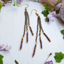Load image into Gallery viewer, Delicate Beaded Earrings
