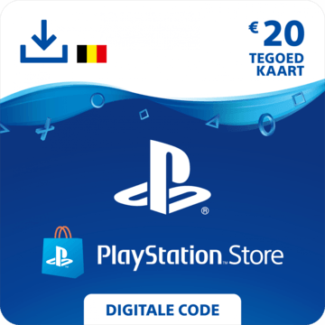 Playstation Store code €20 BE