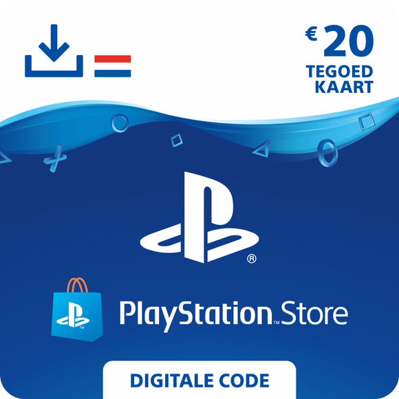 Playstation Store code €20 - i-TopUp.nl