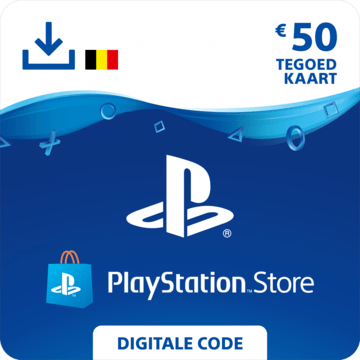 Playstation Store code €50 BE