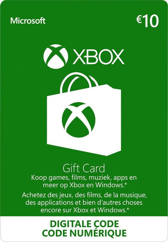 Xbox Gift Card €10