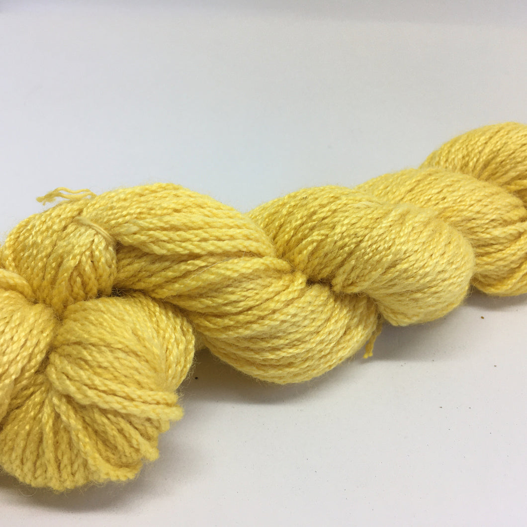 Botanical Dyed Wool Yarn 8ply-  Marigold 50grams