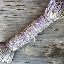 Load image into Gallery viewer, Botanical Dyed Raffia-  Grape 50grams
