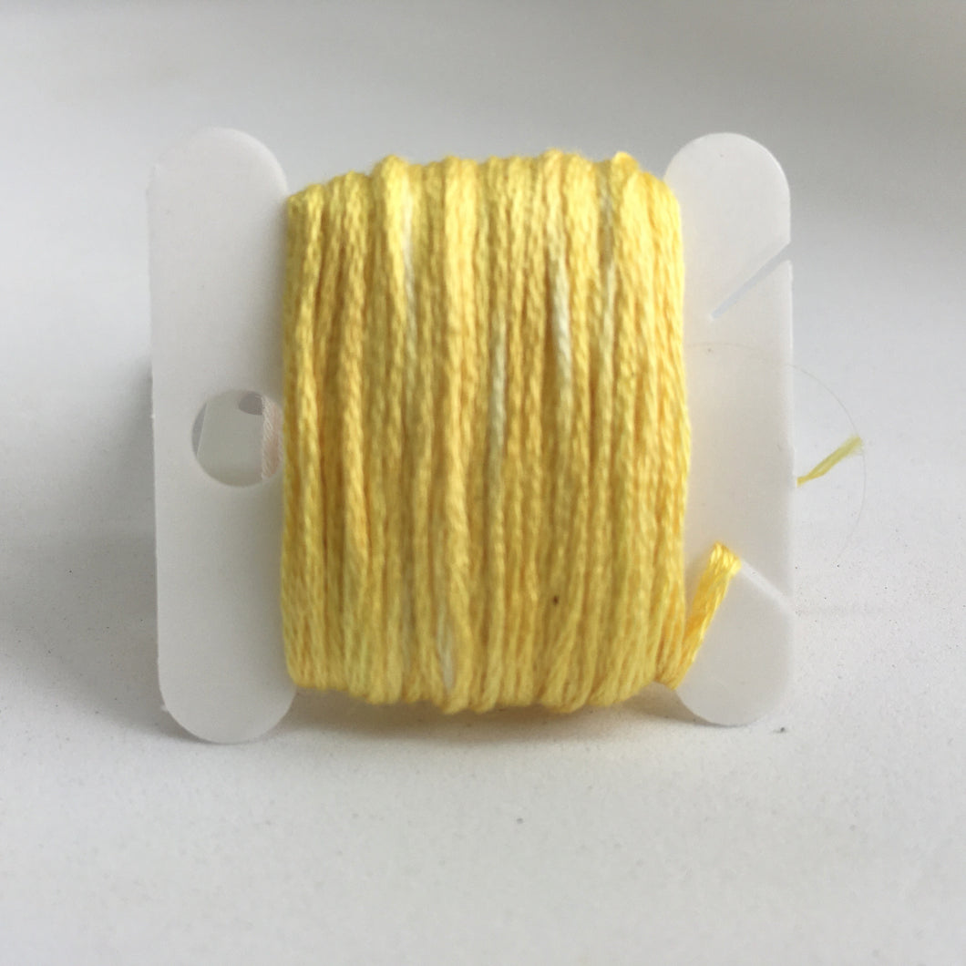 Botanical Dyed Embroidery Thread- Coreopsis Medium 8metres