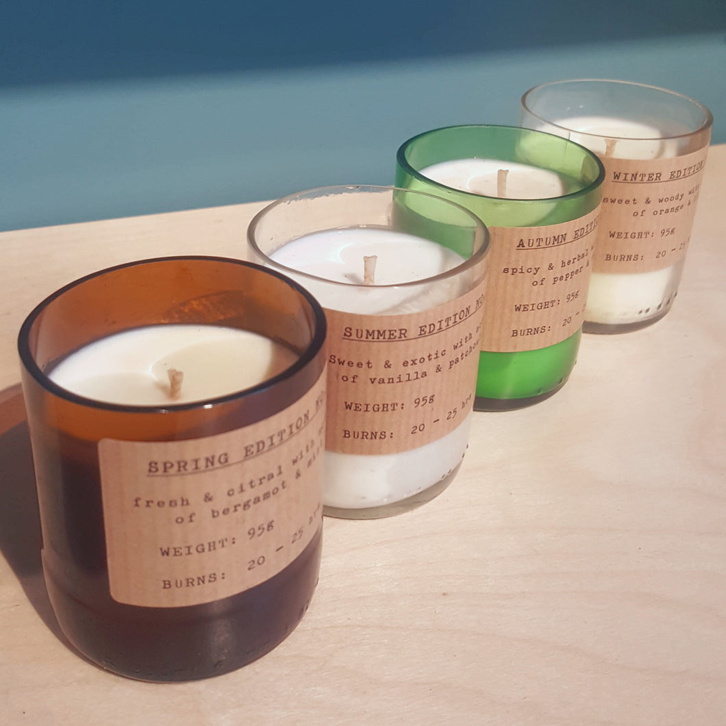 Handcrafted Candles  - Small