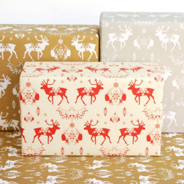 Christmas Recycled Wrapping Paper