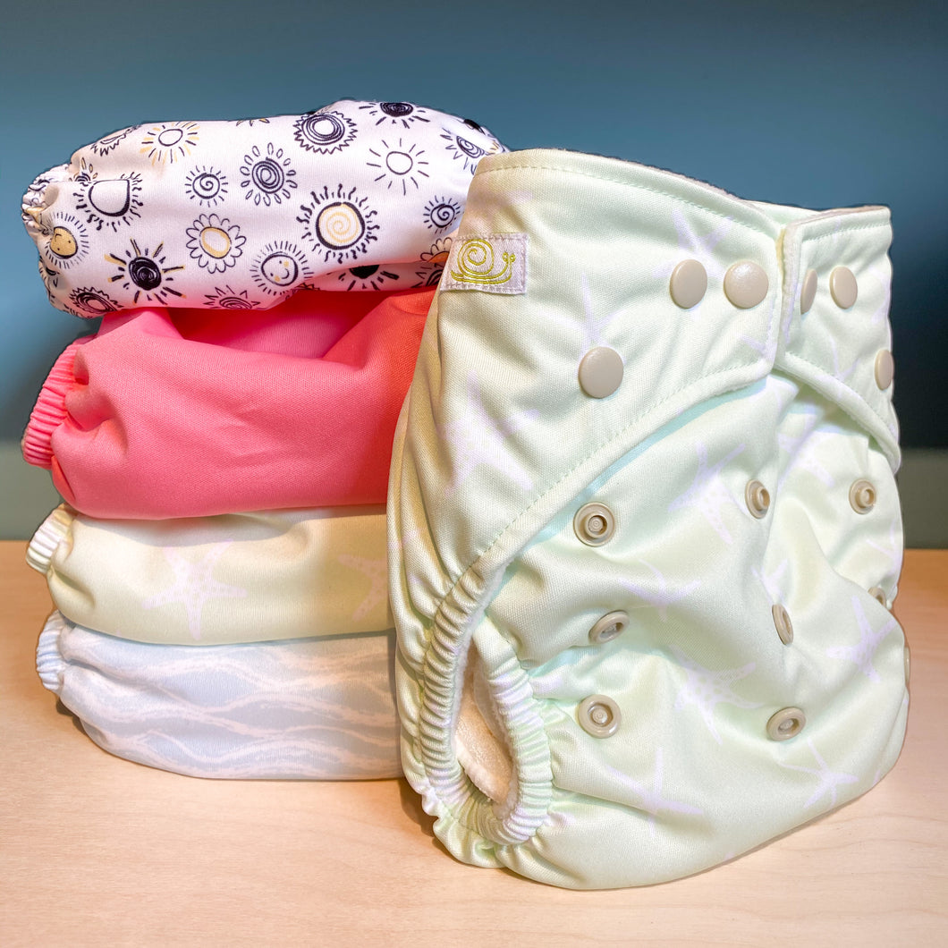 Baba + Boo Reusable Cloth Nappies