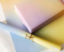 Load image into Gallery viewer, Rainbow Gradient Recycled Wrapping Paper