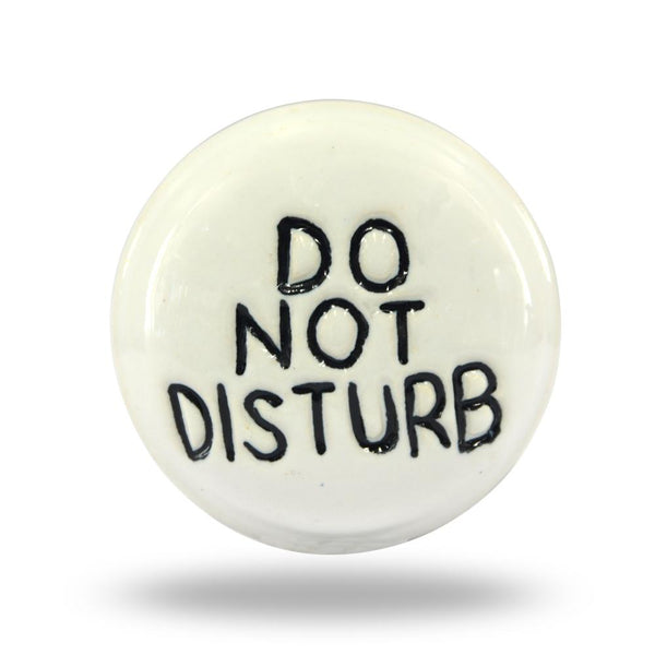 Ceramic Disturb Not Mortice Knob