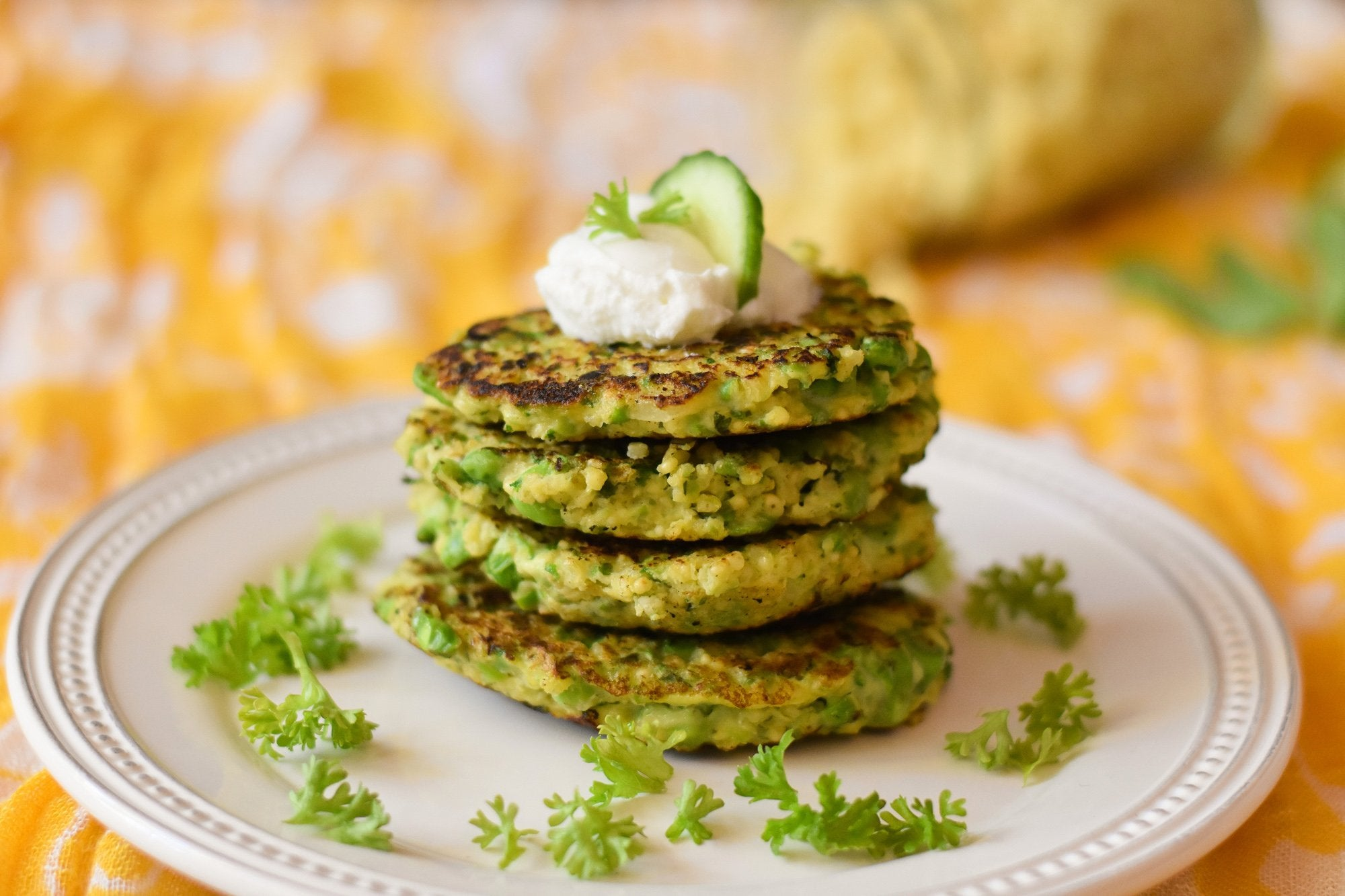 Millet and Green Pea Patties