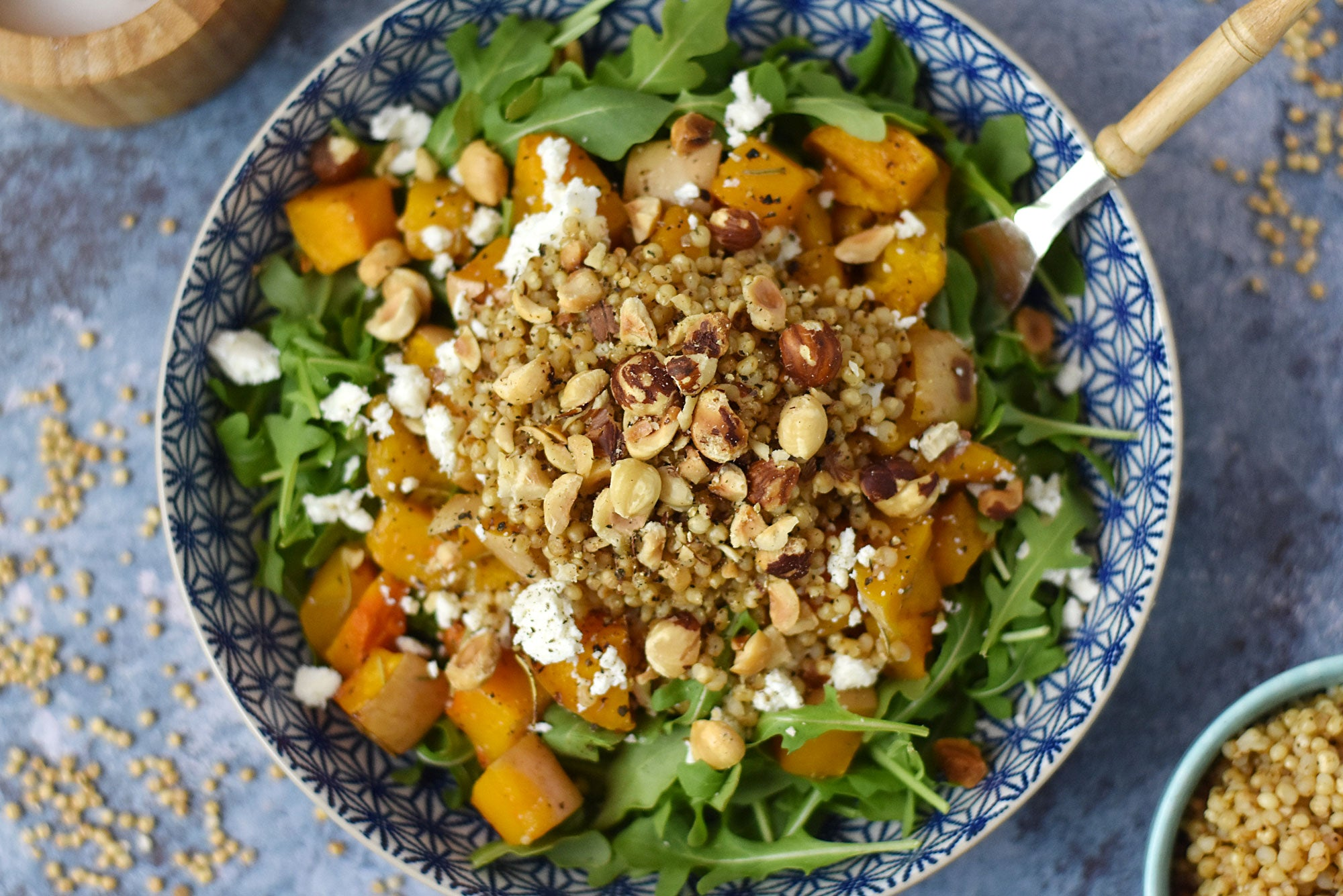 Butternut Squash and Sorghum Salad