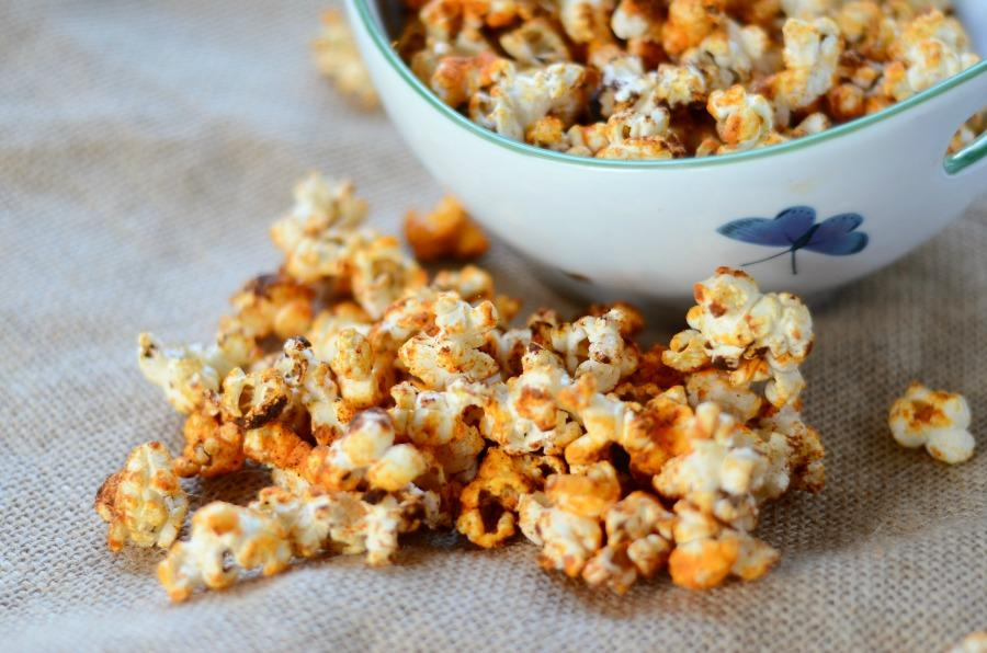 Cheese and Chili Popcorn