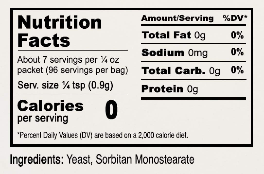 Active Dry Yeast Packets: Gluten Free