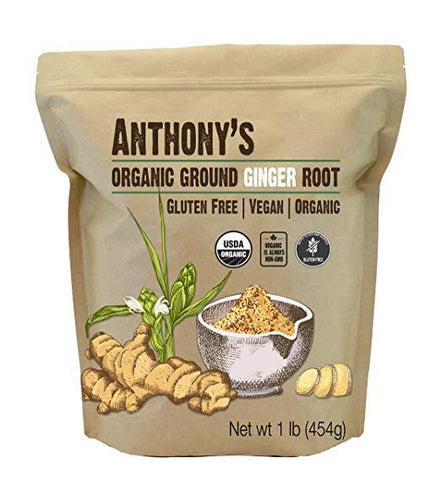 Ground Ginger Root: Batch Tested & Gluten-Free