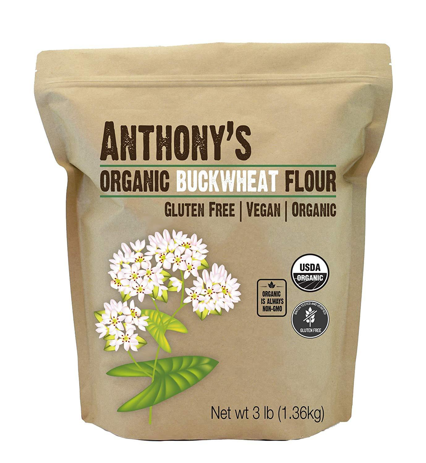Organic Buckwheat Flour: Grown in USA & Gluten-Free