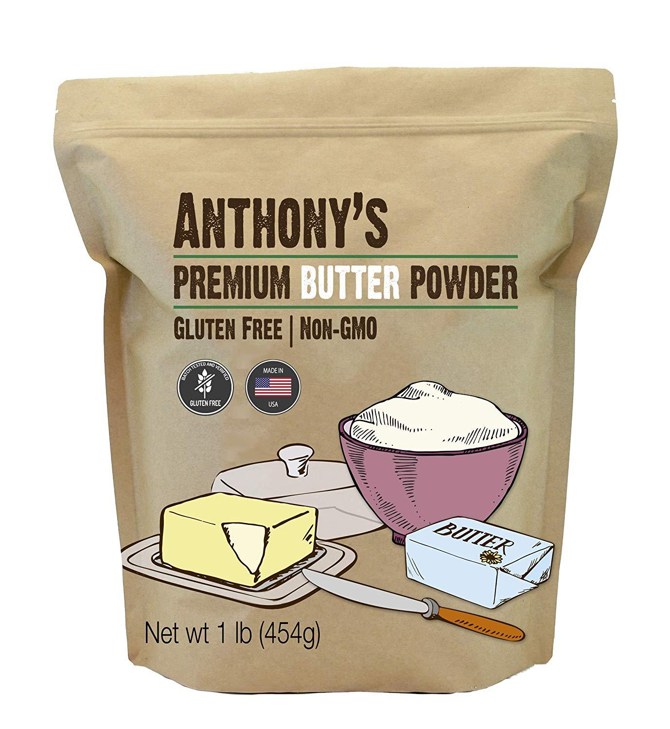 Premium Powdered Butter: Gluten-Free & Non-GMO