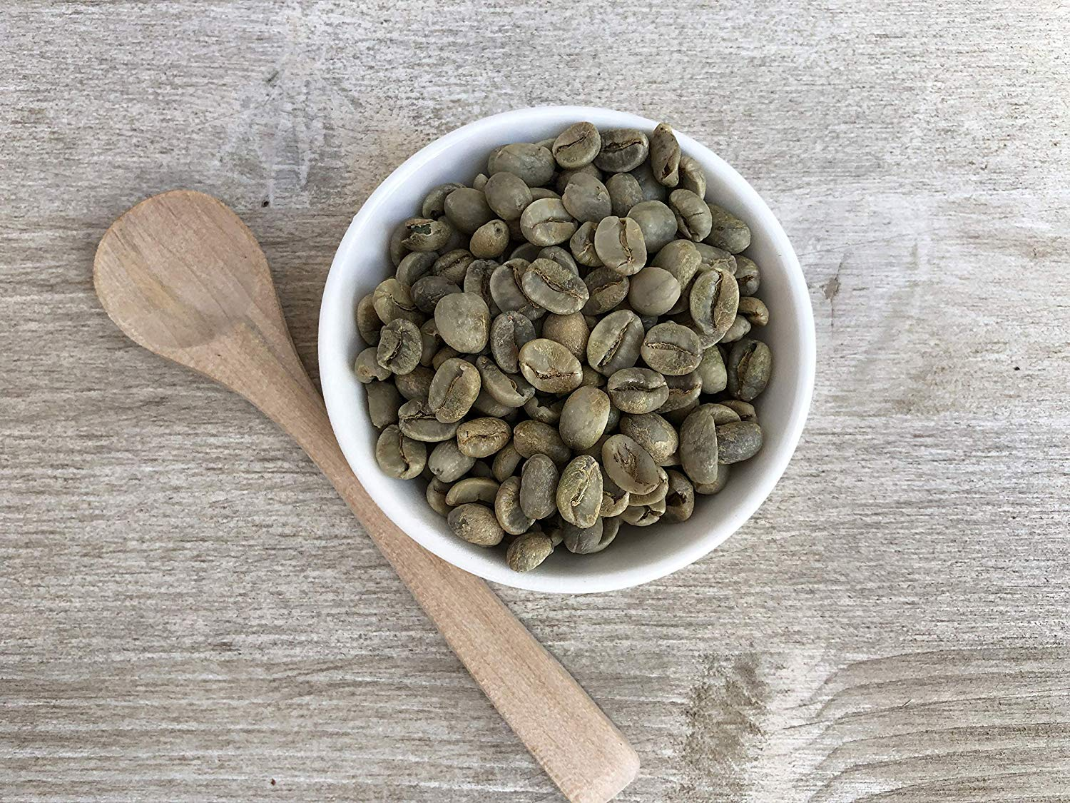 Organic Unroasted Whole Green Coffee Beans (2lb) Mexican Altura Arabica Beans, Raw, Batch Tested Gluten Free