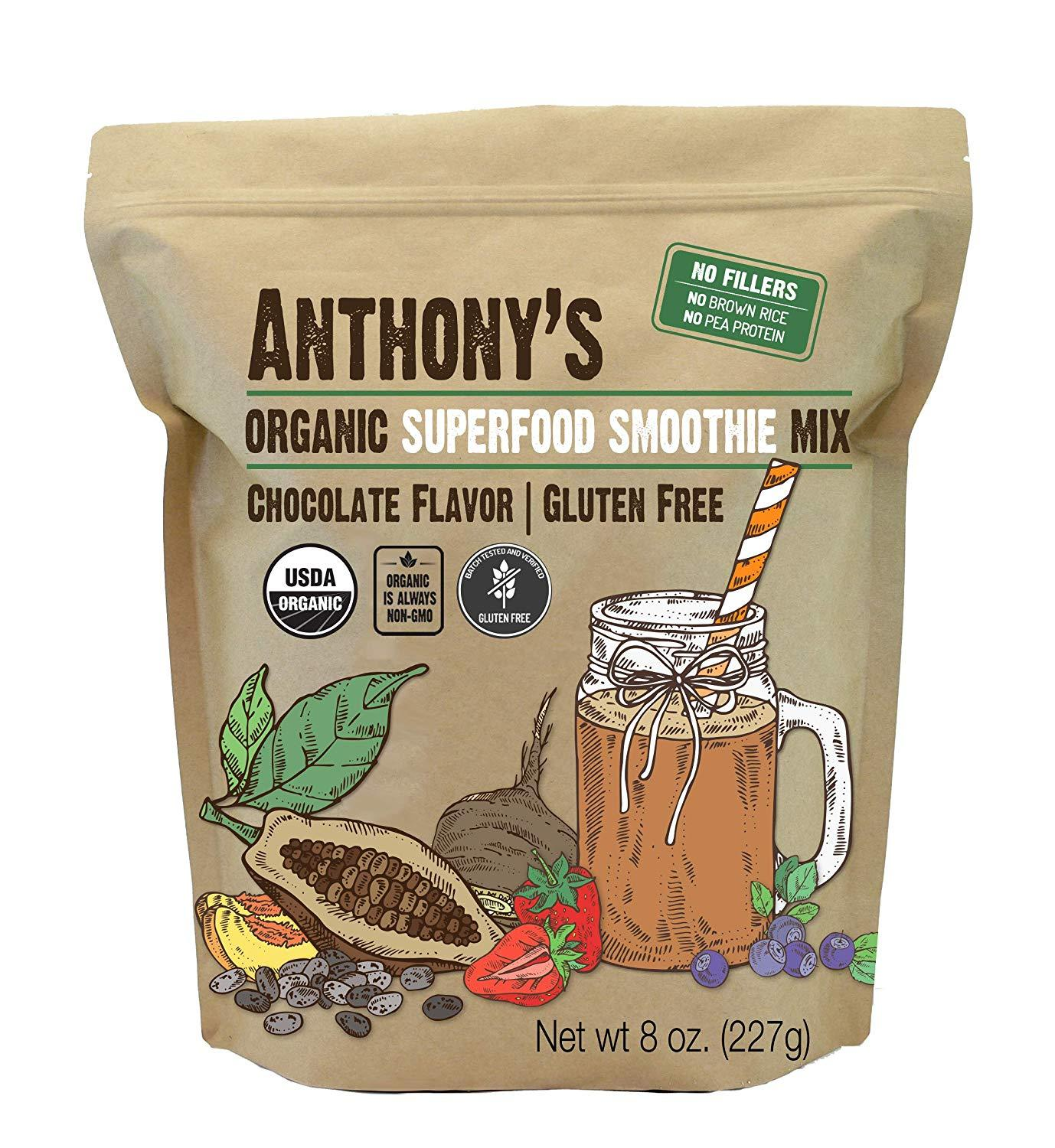 Superfood Smoothie Mix: Organic & Gluten Free