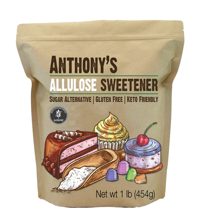 Allulose Sweetener: Gluten Free, Sugar Alternative