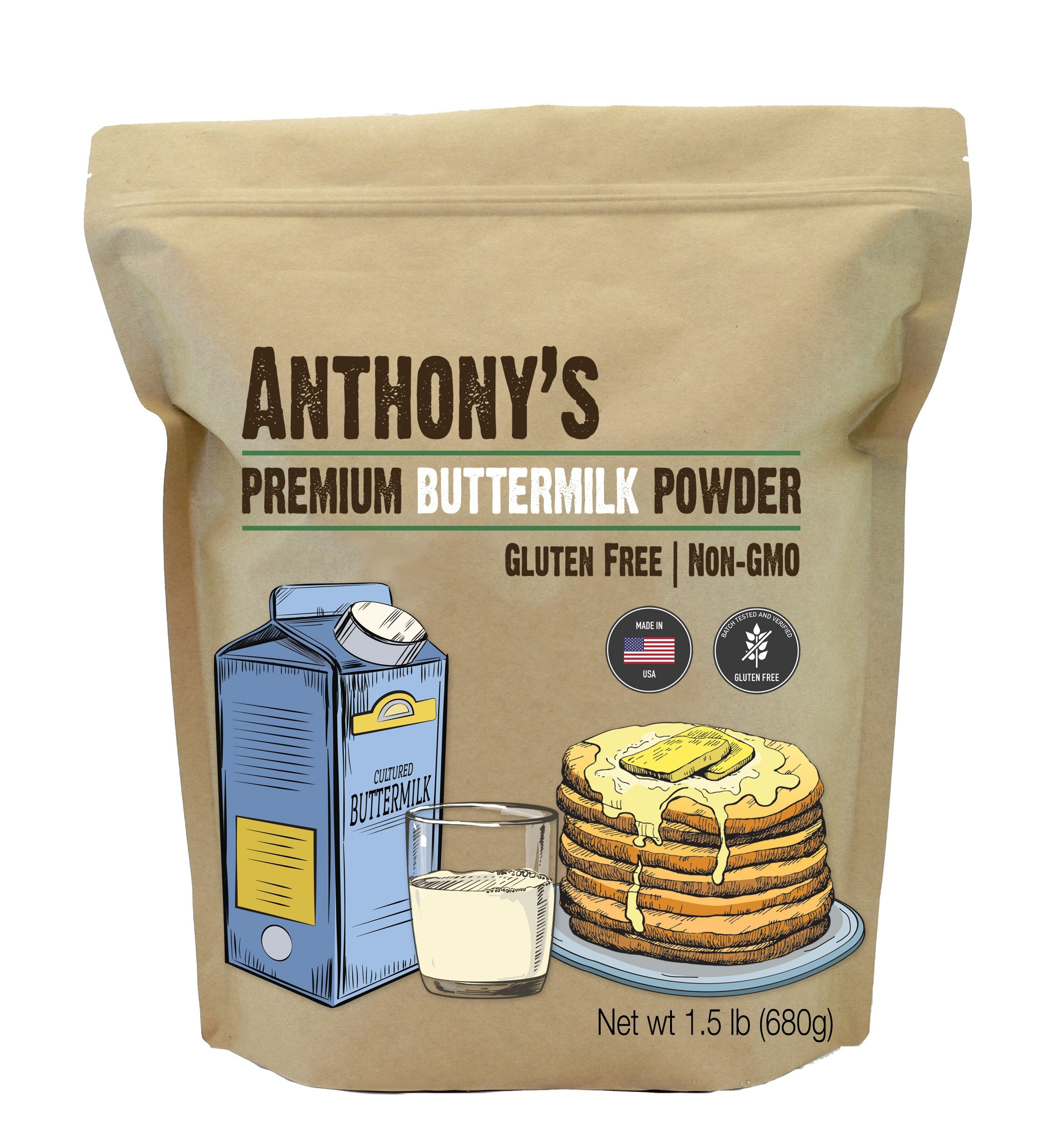Premium Powdered Buttermilk: Non-GMO & Gluten-Free