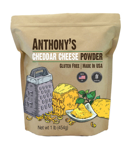 Premium Cheese Powder: Non-GMO, Gluten-Free & No Artificial Coloring