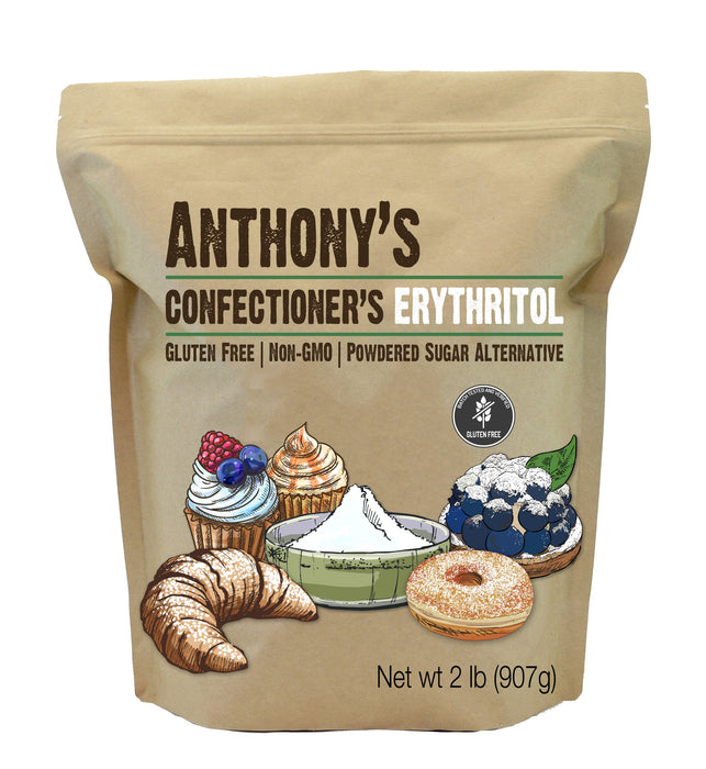 Confectioner's Erythritol: Non-GMO, Natural Sweetener, Keto & Paleo Friendly