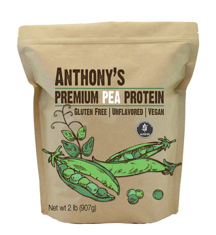 Pea Protein Powder: Vegan Friendly, Gluten-Free & Non-GMO