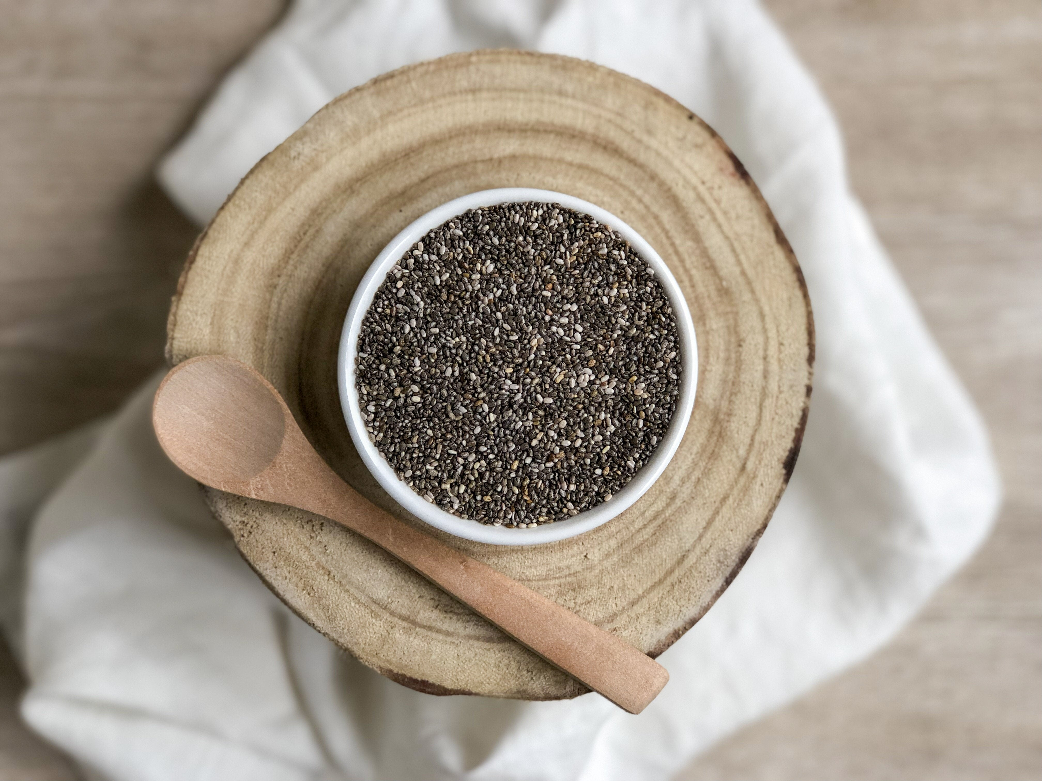 Organic Chia Seeds: Batch Tested & Verified Gluten-Free