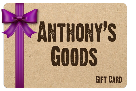 Anthony's Goods Gift Cards