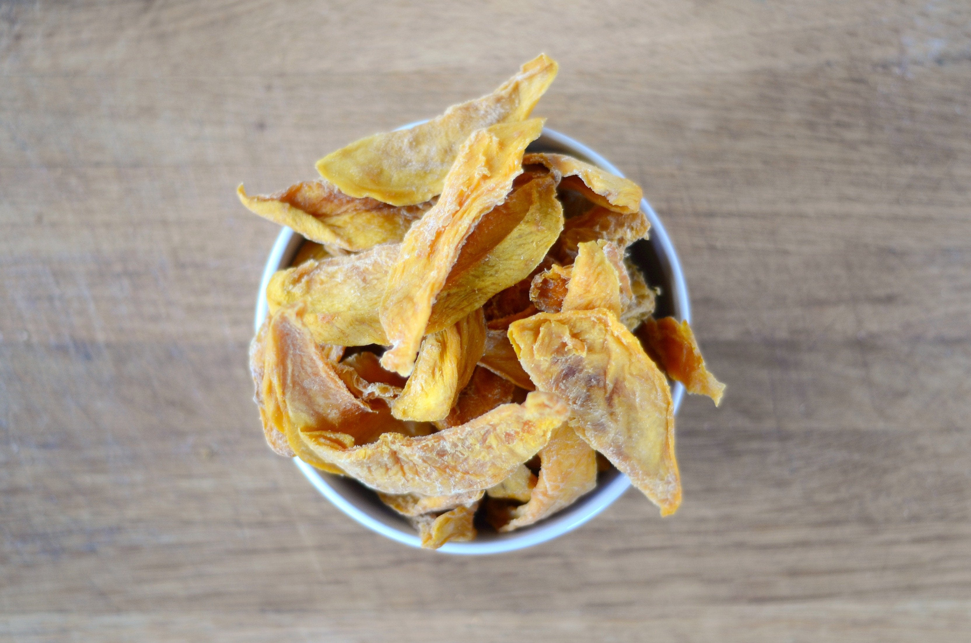 Organic Dried Mango Strips: Gluten Free, No Added Sugars