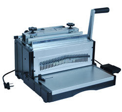 DELUXE WIRE 34E ELECTRIC WIRE BINDING MACHINE