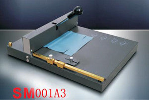 Model SM001A3. 3 IN 1 scoring, creasing & perforating machine.