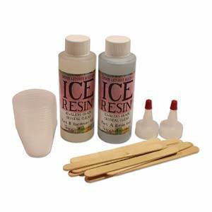 Adhesives And Glues - Ice Resin 8 OZ Doming Kit