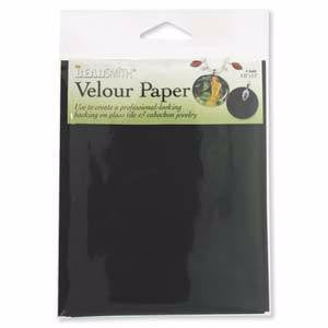 Backings - Velour Paper
