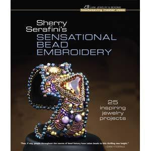 Books - Sensational Bead Embroidery Sherry Serafini  Book