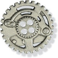 Steampunk - Gear Button