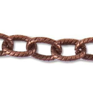 Chain - Textured Cable Chain Small