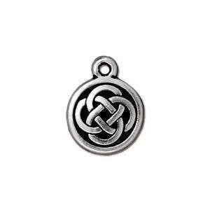 Charm - Celtic Drop Charm