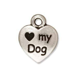 Love my dog charm