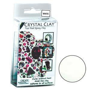 Crystal Clay - Crystal Clay 50 Gram White