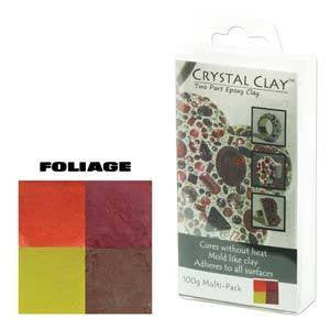 Crystal Clay Foliage
