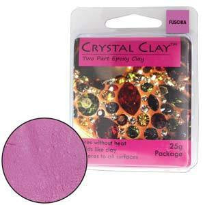 Crystal Clay Fuchsia
