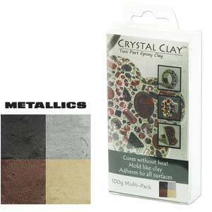 Crystal Clay Metallics