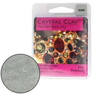 Crystal Clay Silver