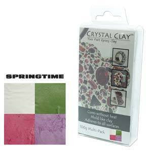 Crystal Clay Springtime