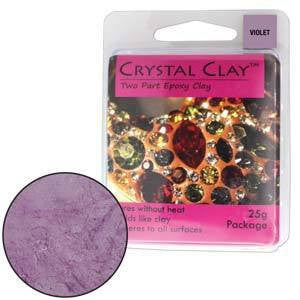 Crystal Clay Violet