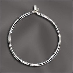 Silver Filled Beading Hoops